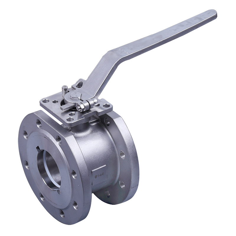 LN-Q1AFH-Wafer ball valve with direct mounting pad 150LBS