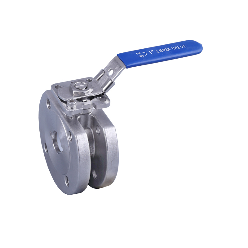 LN-Q1DFH-Wafer ball valve with direct mounting pad